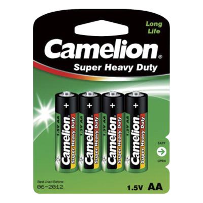 Mignon-Batterie CAMELION Super Heavy Duty 1,5 V, Typ AA,...
