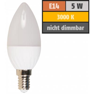 LED-Kerzenlampe McShine Brill95 E14, 5W, 400lm, 160°,...