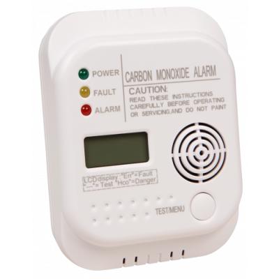 Kohlenmonoxid-Melder McPower KD-201, Thermometer, DIN...