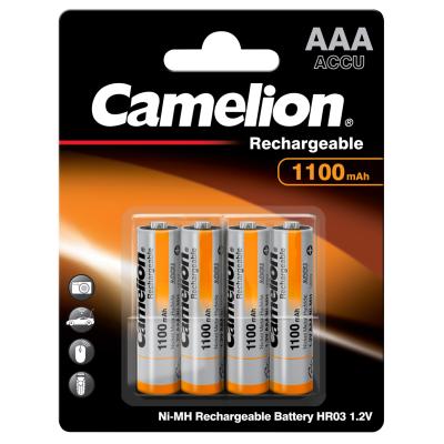 Micro-Akku CAMELION 1,2 V, 1.100 mAh, Typ AAA, NiMH,...