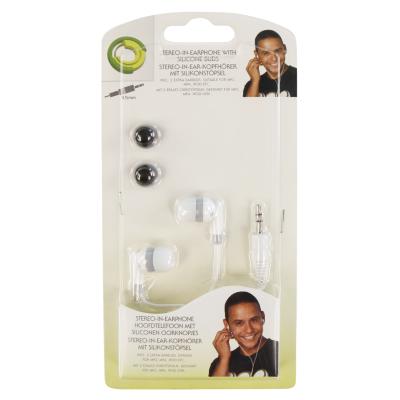 Ohrhörer, stereo, 1,2m Kabel, 3,5mm Klinke