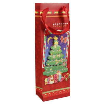 Geschenktüte für Weihnachten, 12x8,3x37cm