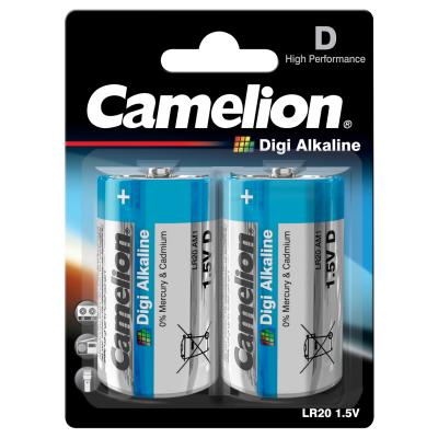 Mono-Batterie CAMELION  Digi Alkaline 1,5 V, Typ D/LR20,...