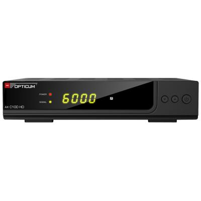DVB-C Receiver Opticum AX C100 HD 1080p, USB, HDMI