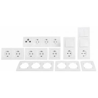 McPower Schalter und Steckdosen Set Flair - Komfort |...