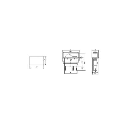 Kfz-Schalter McPower, 3-polig, 12V-250V/20A, grün,...