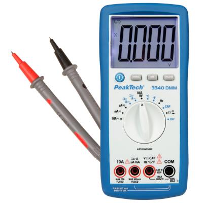 Digital-Multimeter PeakTech 3340, 39 mm Jumbo-Display,...