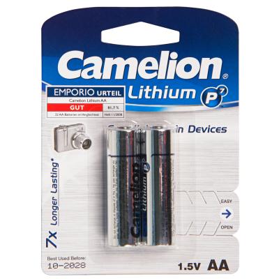 Mignon-Batterie CAMELION Lithium 1,5V, Typ AA/FR6,...