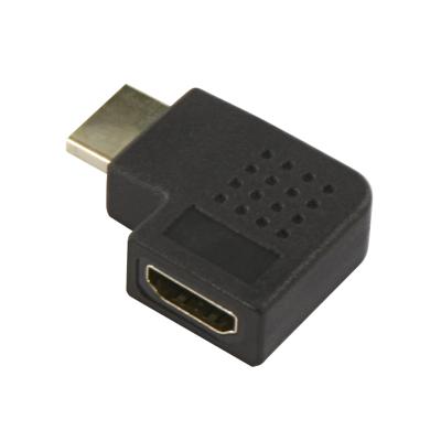 HDMI-Adapter, HDMI Stecker -> HDMI Buchse, rechtwinklig