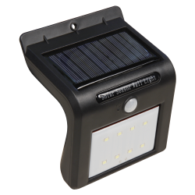 LED Solar Wandleuchte McShine, Bewegungsmelder, 8LEDs,...