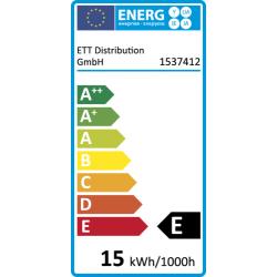 Backofen-Leuchtmittel, E14, 230V, 15W, klar, 70 lm
