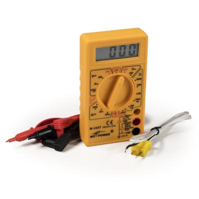 Digitalmultimeter McPower M-330T, Temperatur-Messung -50...