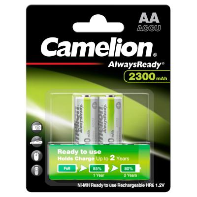 Mignon-Akku CAMELION AlwaysReady NiMH, 2300mAh, Typ AA,...