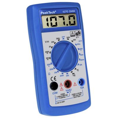 Digital-Handmultimeter PeakTech 1070, 3,5-stellig