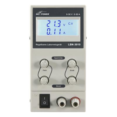 Labornetzgerät McPower LBN-3010, 0-30V, 0-10A...