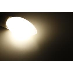 LED Filament Kerzenlampe McShine Filed, E14, 2W, 180 lm, warmweiß, matt