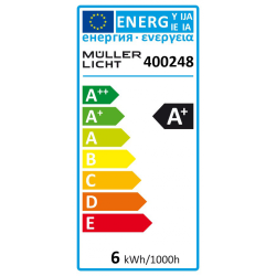 LED Tropfenlampe HD95 E14, 5,5W, 420lm, 2700K,...
