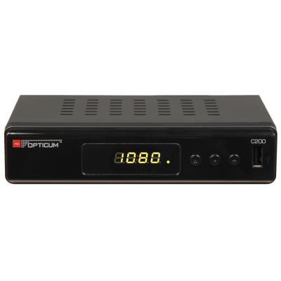 HD DVB-C Receiver in Full HD 1080p, USB 2.0, HDMI, SCART,...