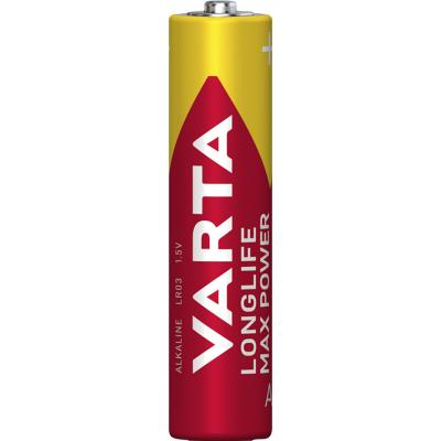 Micro-Batterie VARTA MAX-TECH 1,5 V, Typ AAA, 4er-Blister