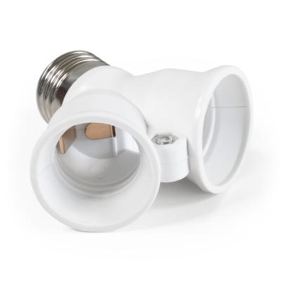 Lampenfassung McShine E27 auf 2x E27, Y-Adapter