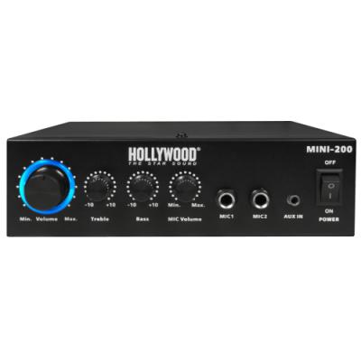 HiFi-Verstärker HOLLYWOOD Mini-200 100W, Bluetooth,...