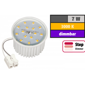 LED-Modul McShine, 7W, 510 Lumen, 230V, 50x33mm, warmweiß, 3000K, step-dimmbar