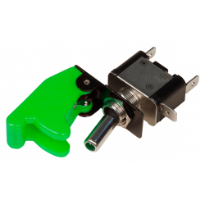 Kill-Switch McPower mit Schutzkappe und LED, 12V / 35A,...