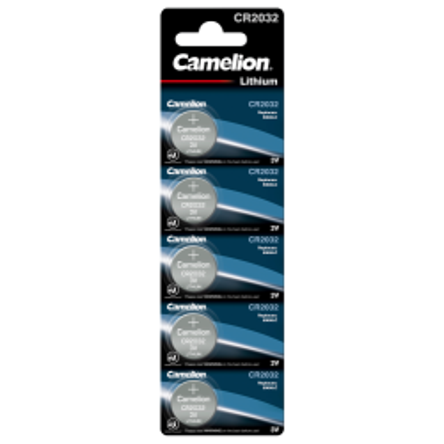 Knopfzelle CAMELION CR2032 3,0V, Lithium, 5er-Blister