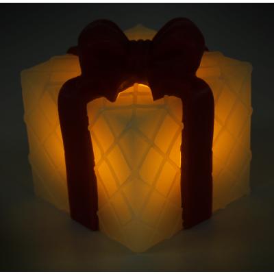 LED Weihnachts-Dekolicht, Echtwachs, 5,3x6cm, inkl. Batterie