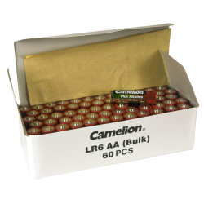 Mignon-Batterie CAMELION Alkaline 1,5 V, Typ AA, 60er-Pack
