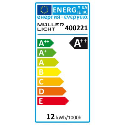 LED Glühlampe E27, 12W, 1520lm, 2700K, warmweiß