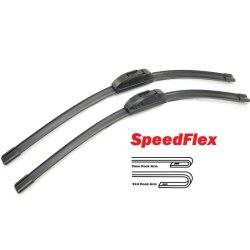 Scheibenwischer Set Satz Flachbalken für Smart Forfour 454 - alle Modelle