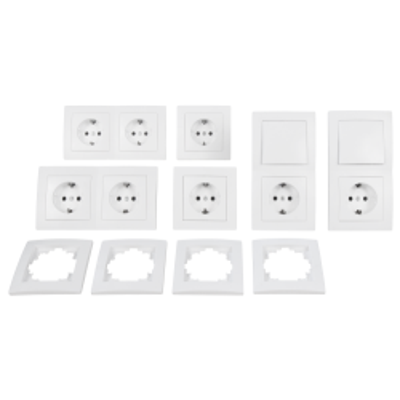 McPower Schalter und Steckdosen Set Flair - Standard |...