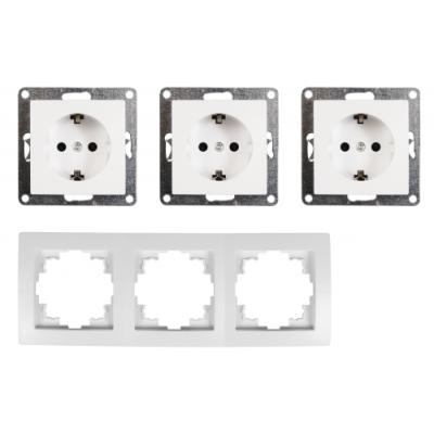 McPower Schalter und Steckdosen Set Flair - Beginner 3S...
