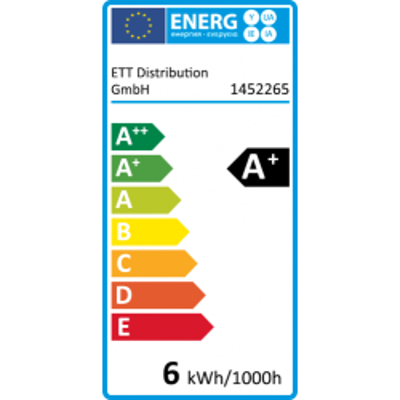 LED Tropfenlampe McShine, E14, 6W, 480lm, 160°,...