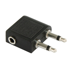Audio-Adapter HOLLYWOOD, 1x 3,5 mm Stereo (Buchse) ->...