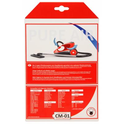 Staubsaugerbeutel CM-01 8er Pack für Siemens und Bosch