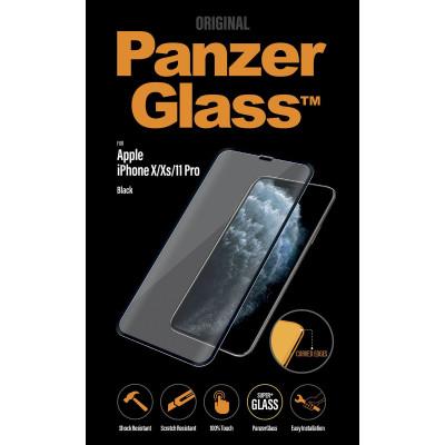 PanzerGlass PREMIUM f. Apple iPhone X/XS/11 Pro, Schwarz