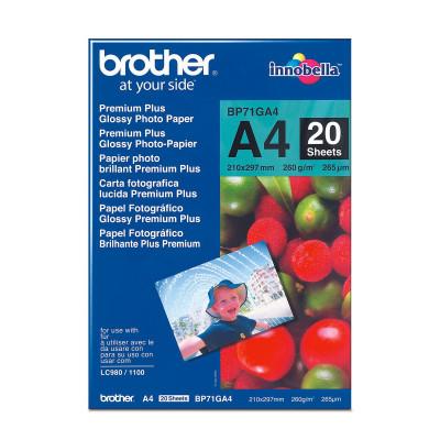 Brother Fotopapier A4 20 Blatt (bis 6000 dpi) 260g/m²