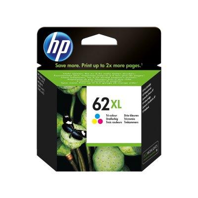 HP Tintenpatrone Nr. 62XL C2P07AE 3-farbig (ca. 415 Seiten)
