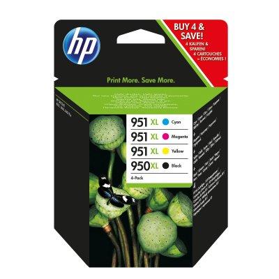 HP Tintenpatrone C2P43AE Multipack (BK/C/M/Y) NEU OVP
