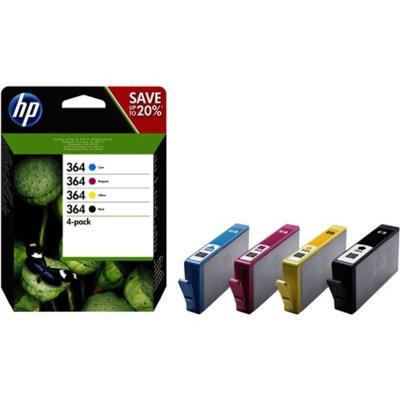 HP Tintenpatrone Nr. 364 N9J73AE Multipack (BK/C/M/Y)