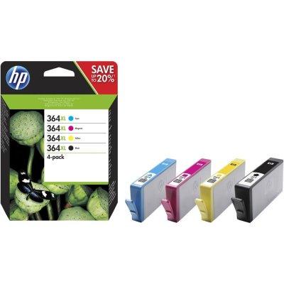 HP Tintenpatrone Nr. 364XL N9J74AE Multipack (BK/C/M/Y)