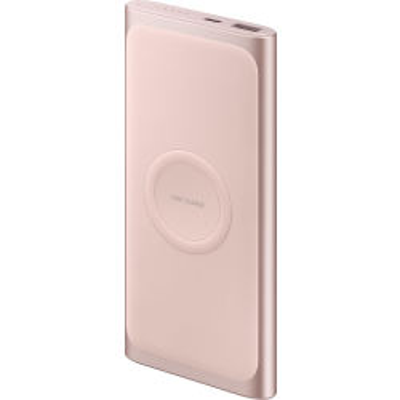 Samsung Induktive Powerbank EB-U1200, Pink