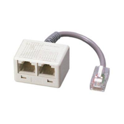 Adapter-ISDN WE8 - 2xWE8 0,1m