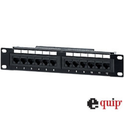 "equip PatchPanel 10"" UTP Cat5e/ISDN"