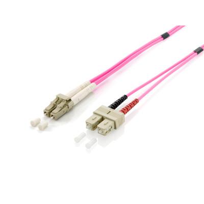 equip LWL Patchkabel HF LC/SC 50/125µ duplex OM4...