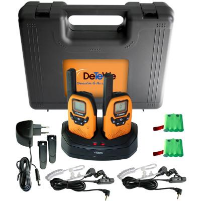 DeTeWe - Funkgerät Outdoor 8000 Duo Case im Koffer