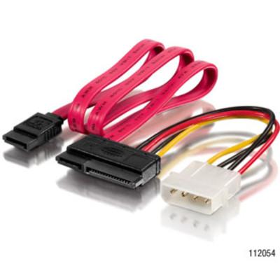 equip SATA Strom-/Datenkabel  0,15m/0,5m