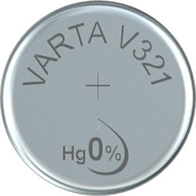 VARTA Knopfzellenbatterie Electronics V321 (SR65) Silber